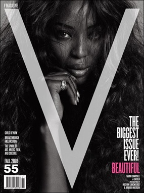 Naomi Campbell - V Magazine September 2008
