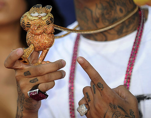 Tyga - Garfield bling bling - MTV VMA 2008