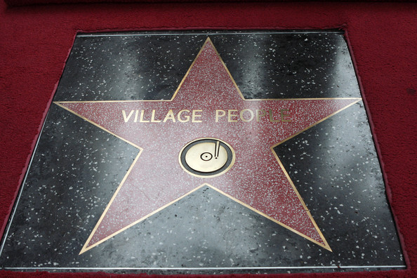 Village People Is Honored With A Star On The Hollywood Walk Of Fame