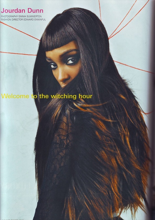 Jourdan Dunn - ID Magazine September 2008
