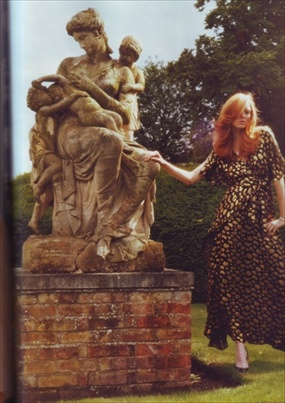 Lily Cole - i-D Magazine September 2008