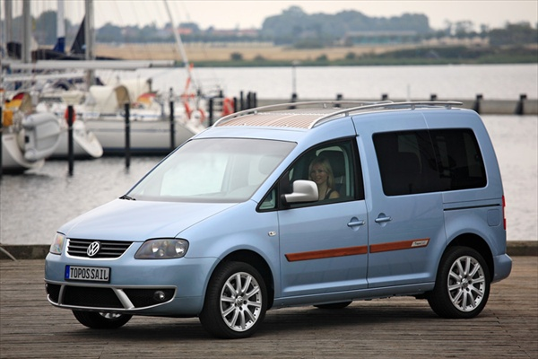 VW Caddy Topos Sail Design