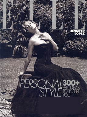 Jennifer Lopez - ELLE Magazine October 2008