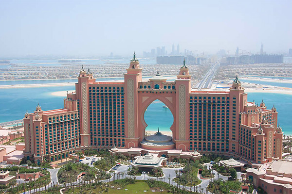 курортный комплекс Atlantis The Palm
