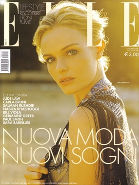 Kate Bosworth - Elle Italy October 2008