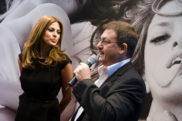 Eva Mendes CK Secret Obsession Fragrance Promotion in Rome