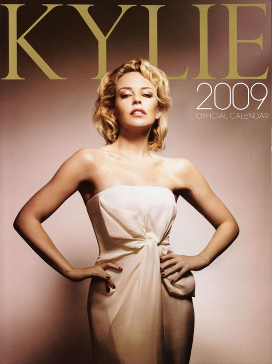 Kylie Minogue 2009 Official Calendar
