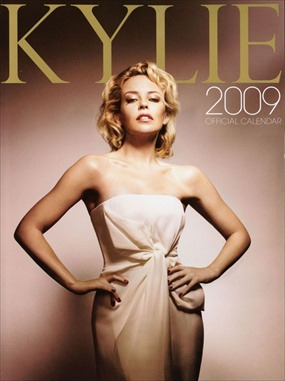 Kylie Minogue - Official 2009 Calendar
