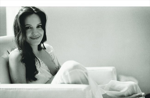 Brad Pitt's Private Photos of Angelina Jolie