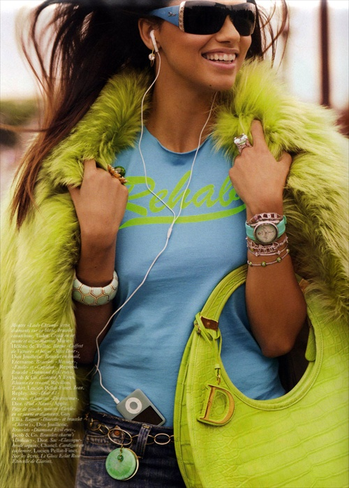 Adriana Lima - Vogue Paris November 2008