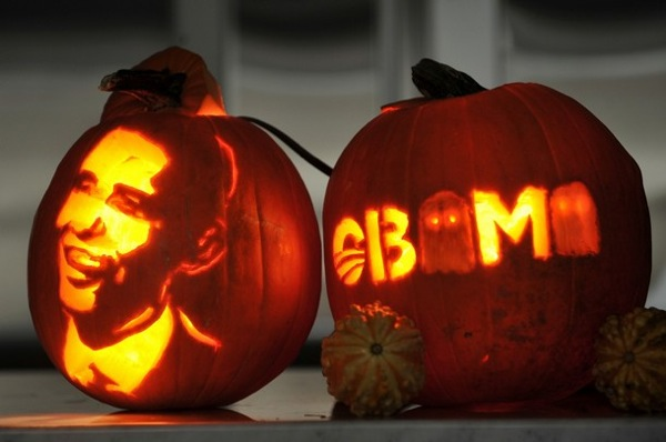 Barack Obama pumpkins