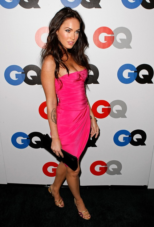 Megan Fox at GQ Men of the Year 2008 Party Awards