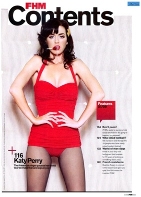 Katy Perry - FHM UK January 2009