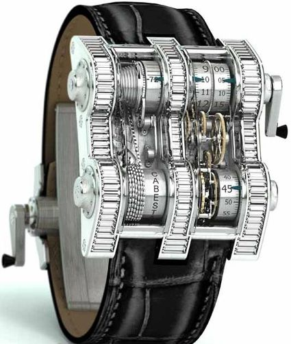 Cabestan Winch Tourbillion Vertical