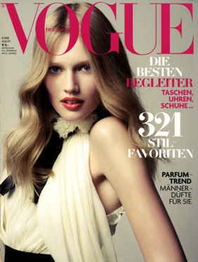 Toni Garn - Vogue Germany December 2008