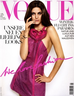 Isabeli Fontana - Vogue Germany January 2009