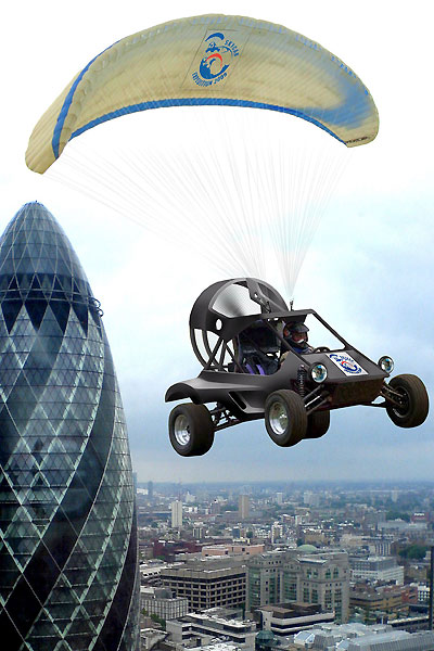 Parajet SkyCar Flying Buggy