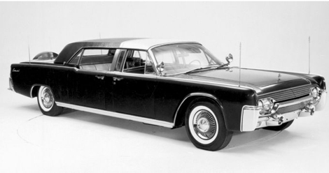 Lincoln Continental SS-100-X 1961 года