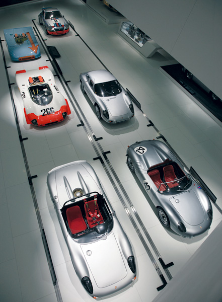 Porsche Museum Stuttgart opens on 31 January 2009