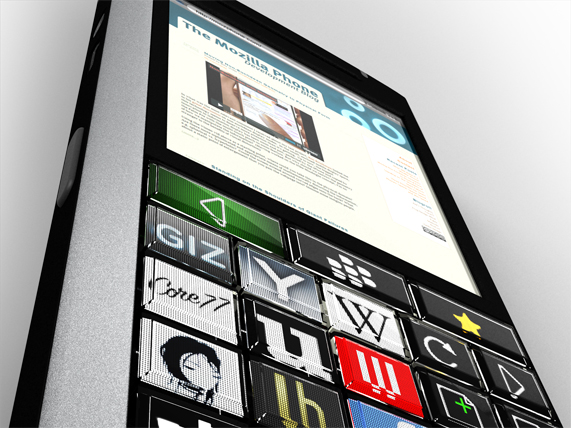 Blackberry + Optimus Maximum Concept Phone