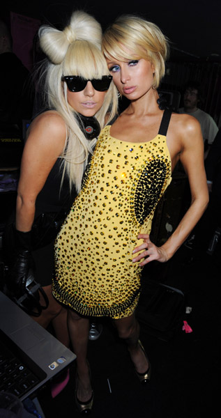 Lady Gaga and Paris Hilton