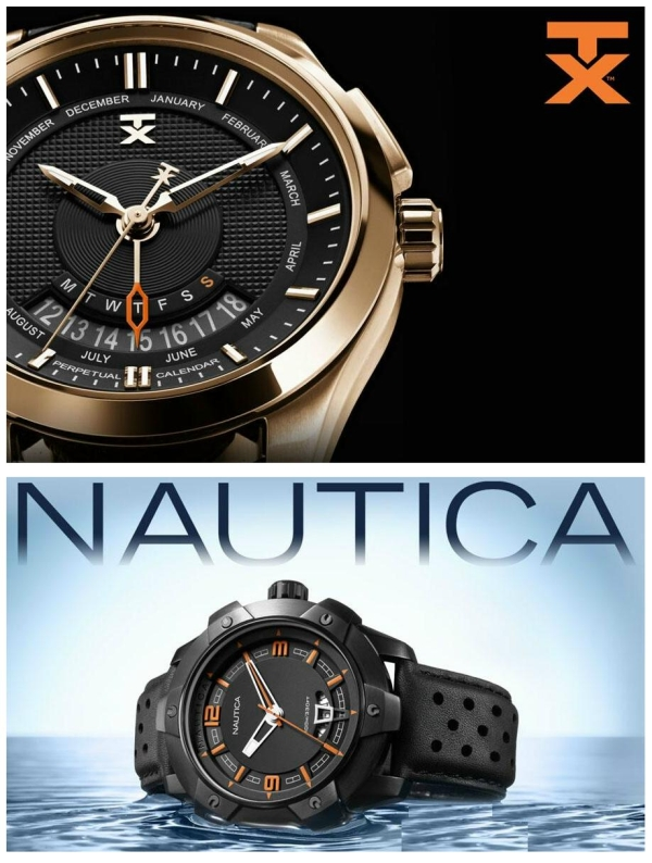 Nautica and TX Technoluxury Watches