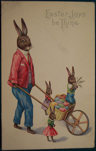Vintage Easter Postcards