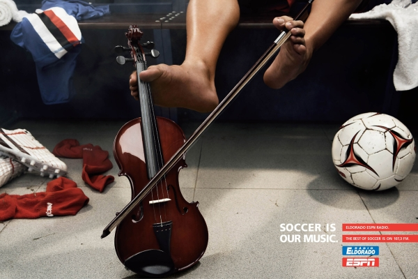 Soccer is our music