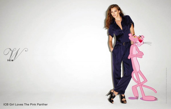 IcB Ad Campaign Terry Richardson Pink Panther