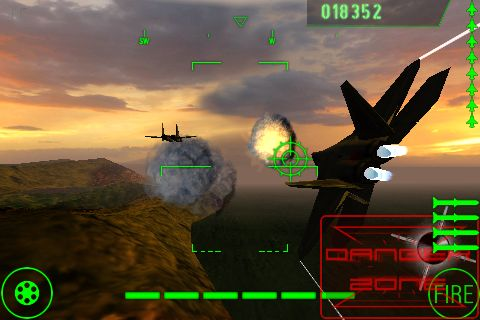 aviasimulyator Top Gun for iPhone