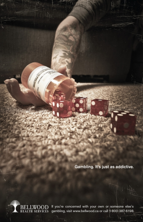 Gambling. It's just as addictive.