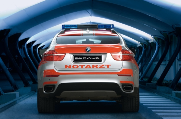 BMW Pitches X6 Crossover as an Ideal Emergency Vehicle