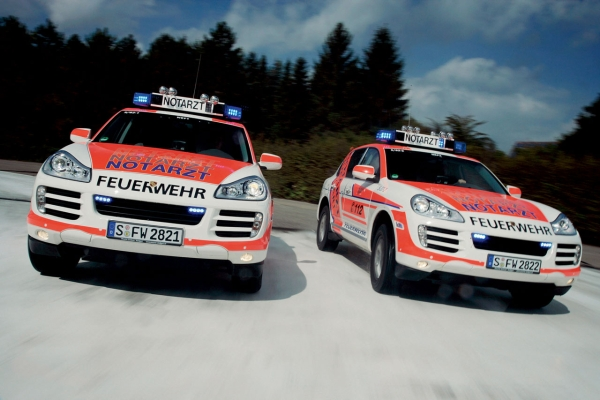 Porsche Cayenne Emergency Medical Vehicles