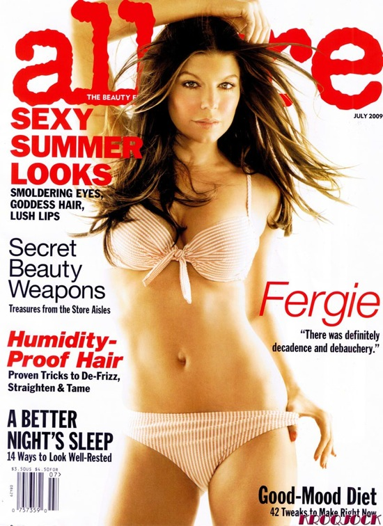 Fergie - Allure Magazine July 2009