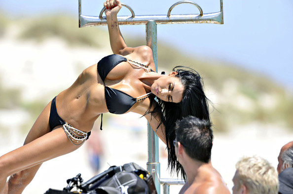 Katie Price aka Jordan - Bikini Photoshoot on the island Formentera