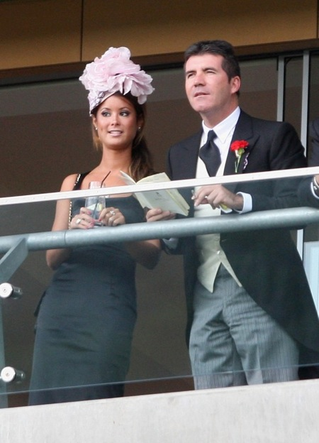Simon Cowell with girlfriend