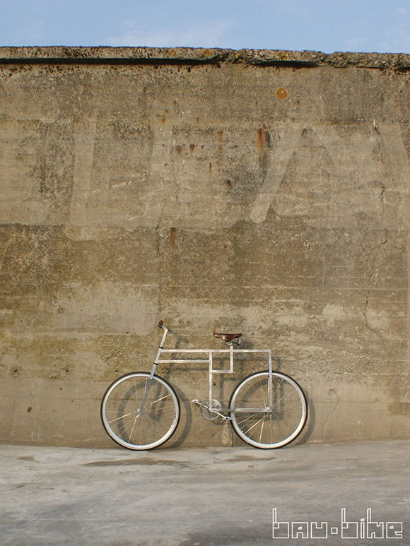 Bike is inspired by Bauhaus design