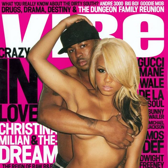 Vibe Magazine July 2009 Christina Milian and The-Dream
