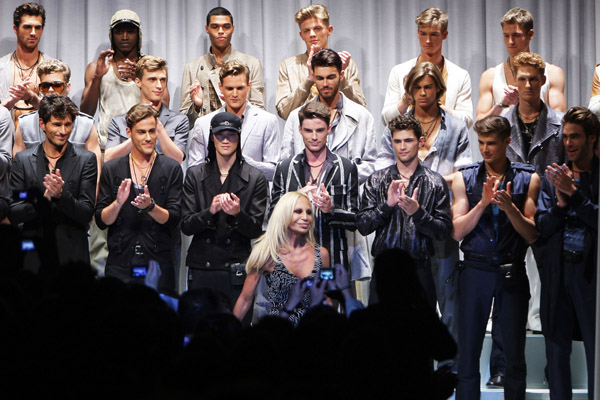 Versace - Milan Mens Fashion Week Spring Summer 2010