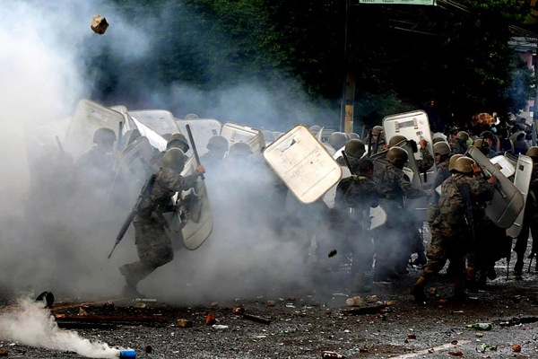 Revolution in Honduras