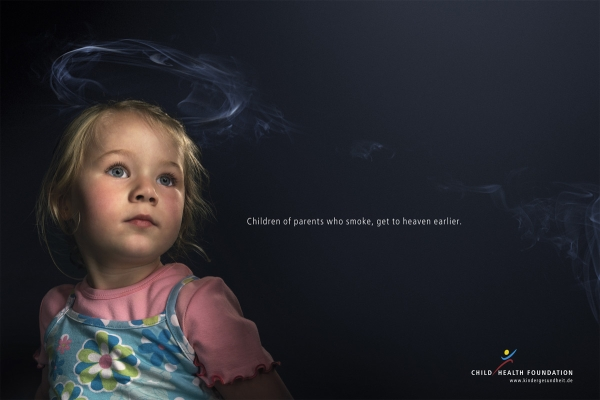 Children of parents who smoke