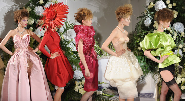Christian Dior fashion show - Paris Haute Couture Fashion Week