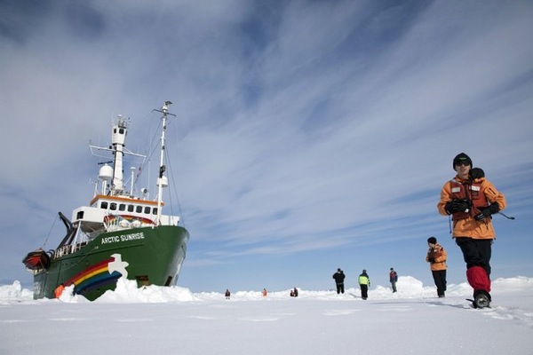 Greenpeace Arctic Sunrise Expedition