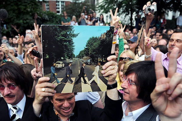 Abbey Road 40 years anniversary