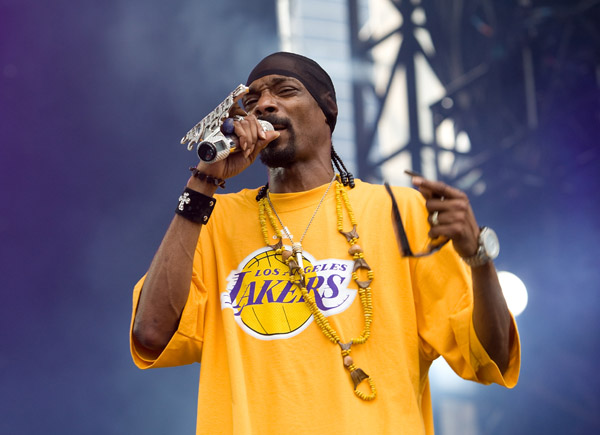 Snoop Dogg at Lollapalooza Music Festival 2009