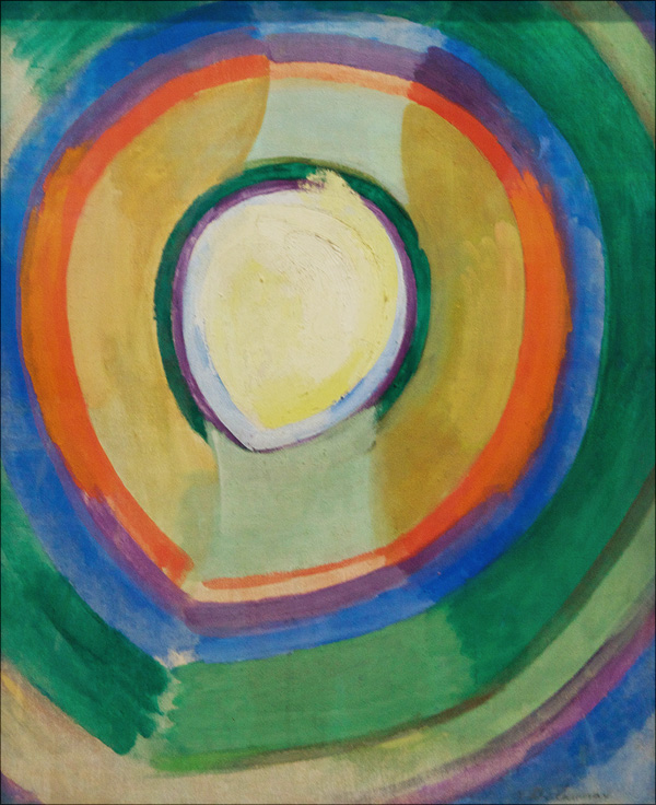 Robert Delaunay (Paris 1885 - Montpellier 1941) | 1913 Formes Circulaires Lune No.2
