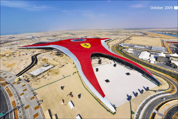 Ferrari World Theme Park