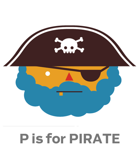 p for Pirate
