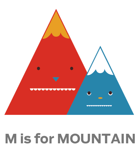m for mountain