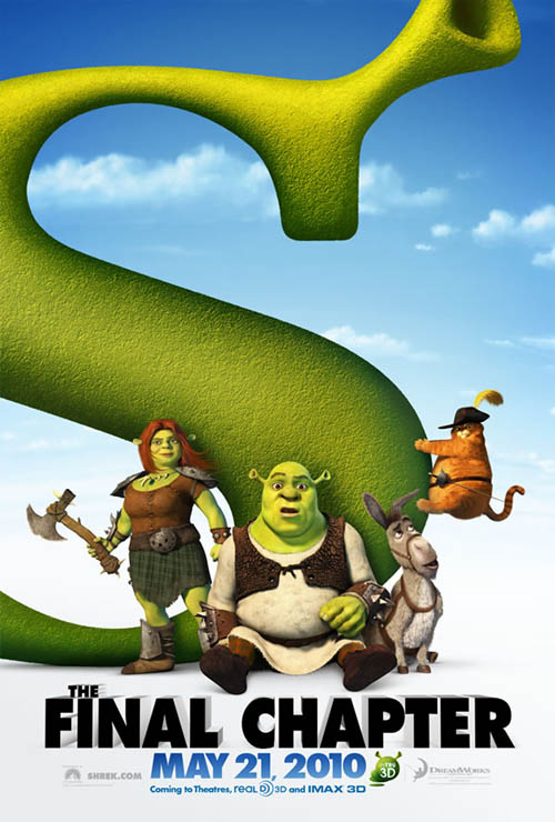 Shrek Forever After шрек 4